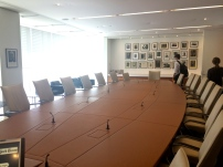 The New York Times company boardroom.