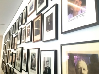 The walls of the boardroom are lined with signed photographs of world leaders.