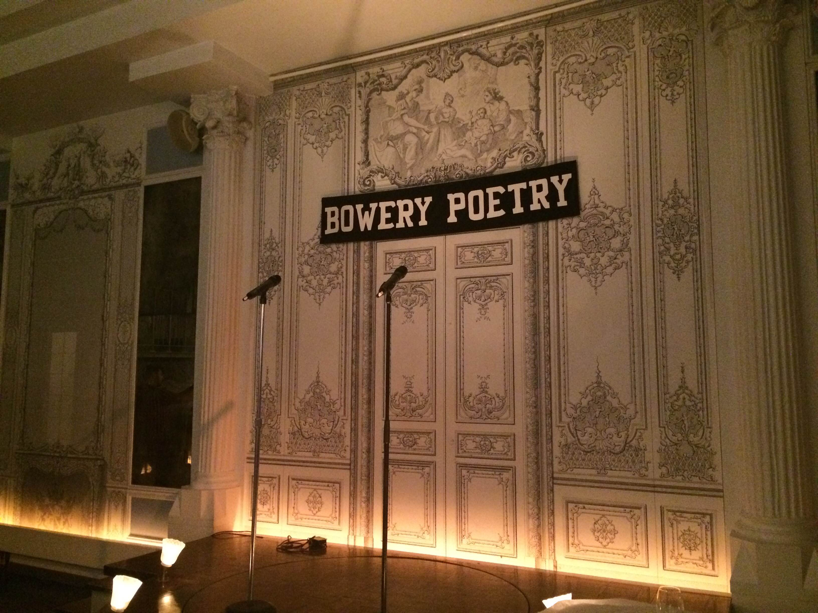 Art Space Profile: The Bowery Poetry Club – Lily Haight