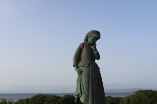 Mother of Aegina statue.